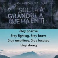 Stay Brave!